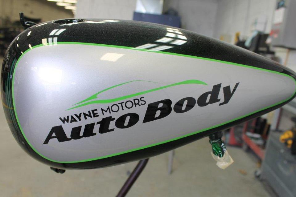 Custom paint restoration for Wayne motors wayne nj